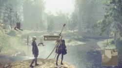 Nier Automata Fishing