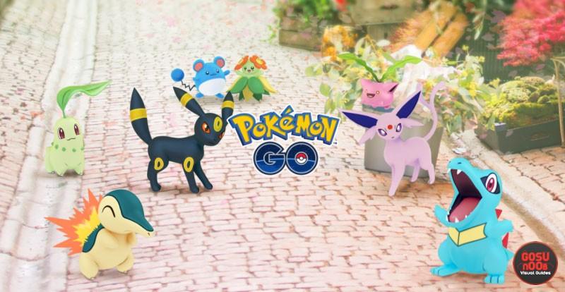 Pokemon GO Gen 2 Pokemon, New Evolutions, Items, Encounters & More