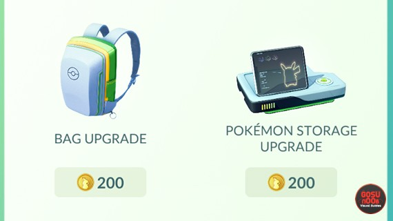 Pokemon GO Pokemon Storage Upgrades 50 Percent Cheaper