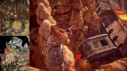 Where to find Stranded Shackles Horizon Zero Dawn