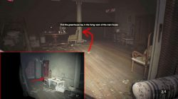 re7 greenhouse key location