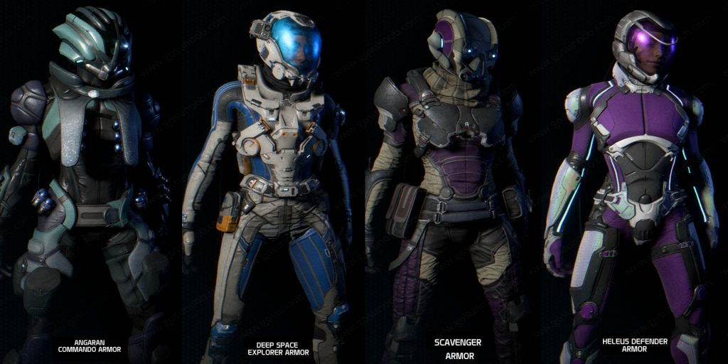 N7 Armor Mass Effect Andromeda: Mass Effect Andromeda Best Armor