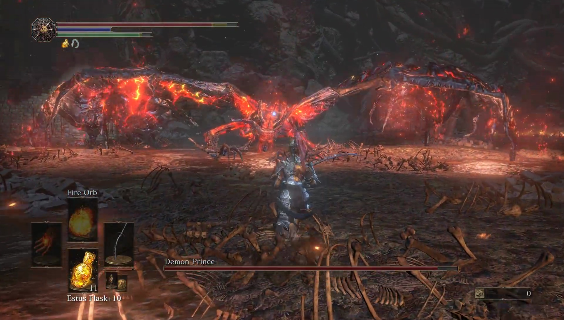 Ringed City Demon in Pain, from Below & Demon Prince ...