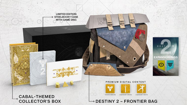 Destiny 2 Limited & Collectors Edition
