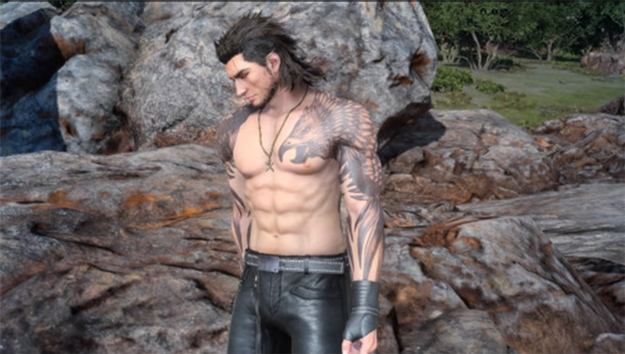 FFXV How to Unlock Gladiolus New Outfit Rugged Attire