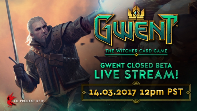 Gwent Closed Beta Live Stream on March 14th