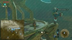 Kass Sign of the Shadow shrine quest start location zelda