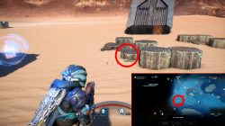 ME Andromeda Eos First Seismic Hammer Location