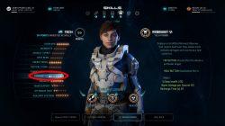 ME Andromeda Remnant VI Tech Skill Powers