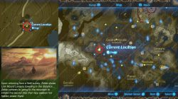 Recovered Memory 14 Sanidin Park Ruins Location Map Zelda Breath of the Wild