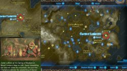 Recovered Memory 15 Lanayru Road East Gate Map Location Zelda BotW