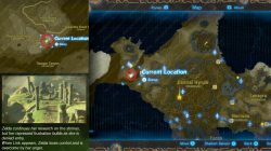 Recovered Memory 5 Zelda's Resentment Map Location Zelda BotW
