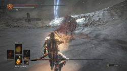 Ringed City Boss Battle Slave Knight Gael DS3 DLC