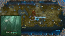 Serpents Jaws location map spirng of courage zelda
