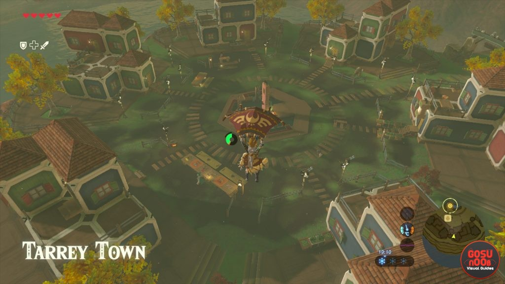 Tarrey Town Finding Goron Gerudo Rito And Zora From The Ground