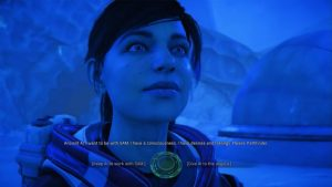 The AI Lives Options Uncover The Past Voeld Quest ME Andromeda