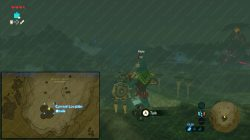 Under a Red Moon Kass location zelda botw