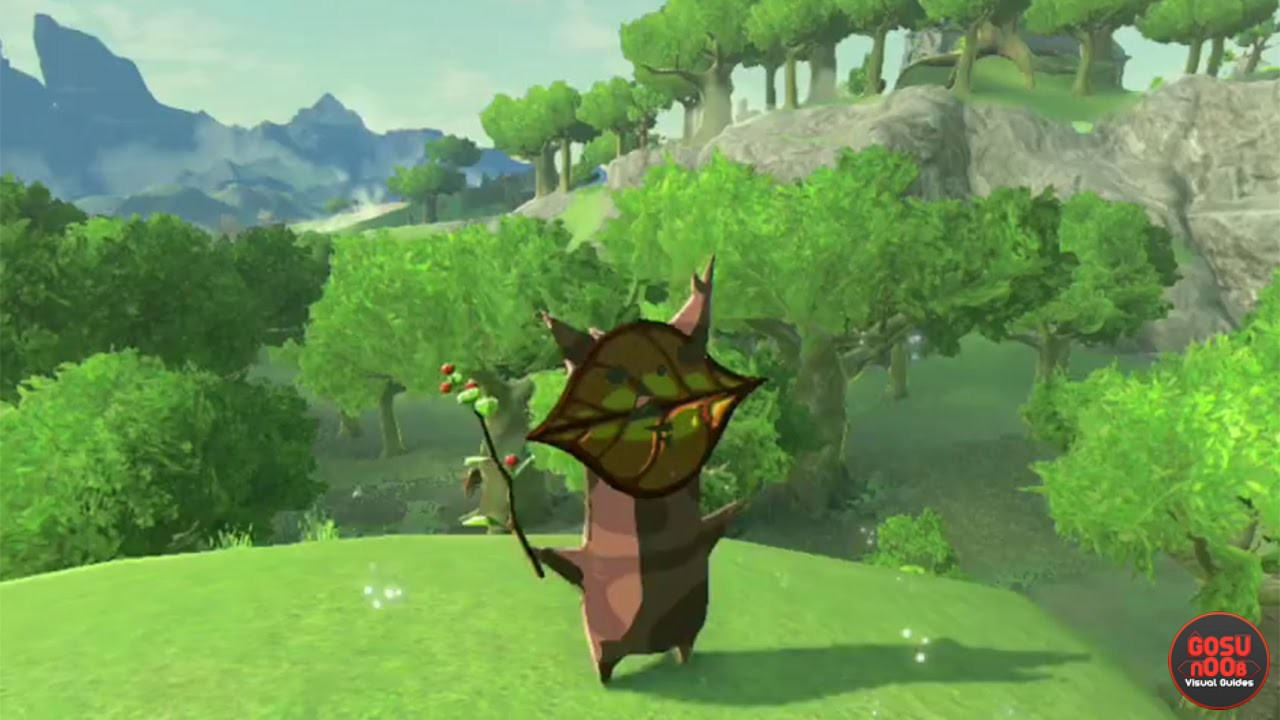 zelda botw all 900 korok seed reward discovered