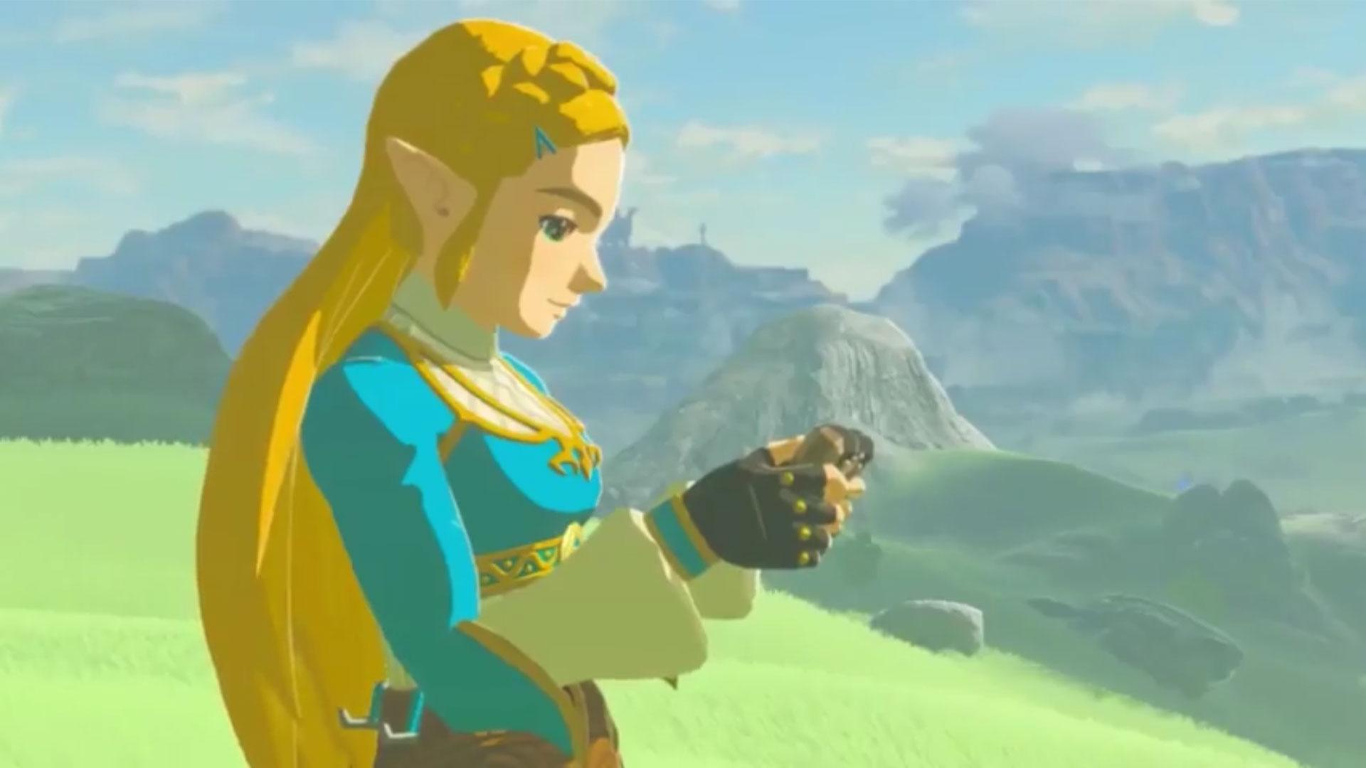 Zelda breath of the wild zelda thicc