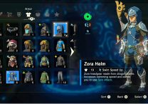Zelda Breath of the Wild Zora Armor Set Location