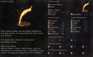 demon's scar curved sword dks3