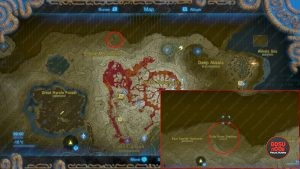 dinraal location zelda botw
