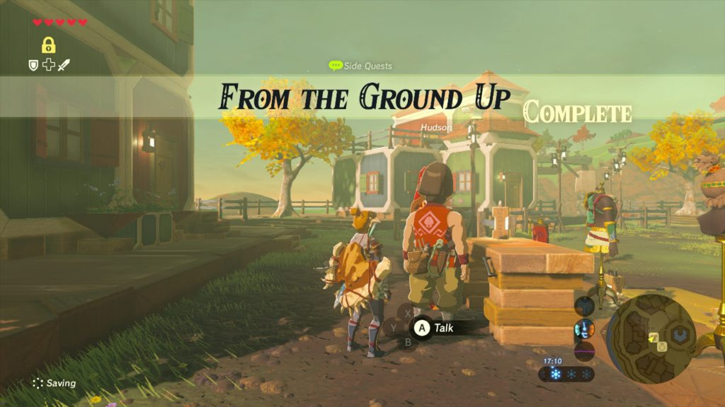 from the ground up side quest complete guide