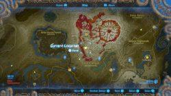 goron location map tarrey town rebuilding zelda botw
