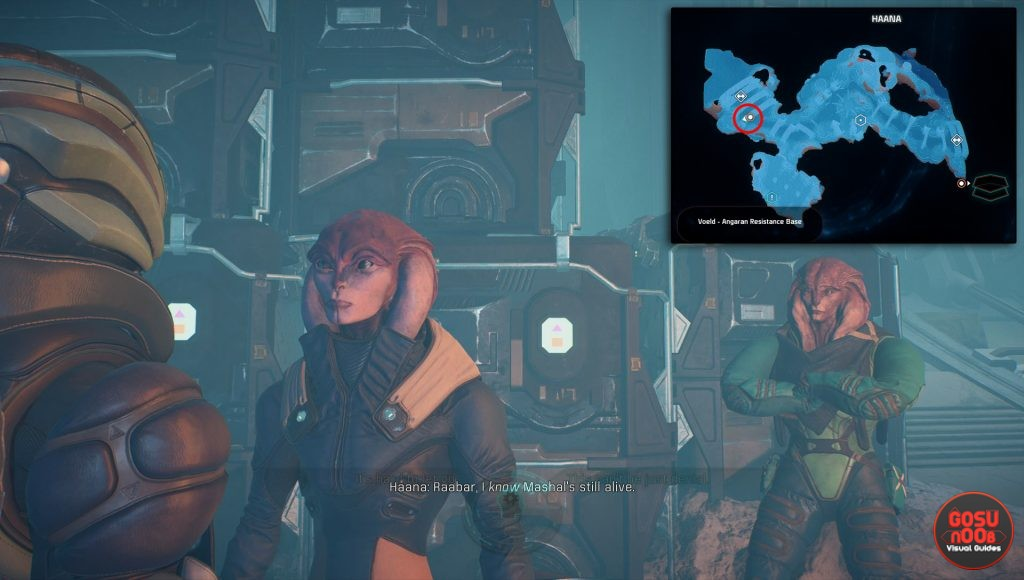 haana location The Lost Scout mass effect andromeda