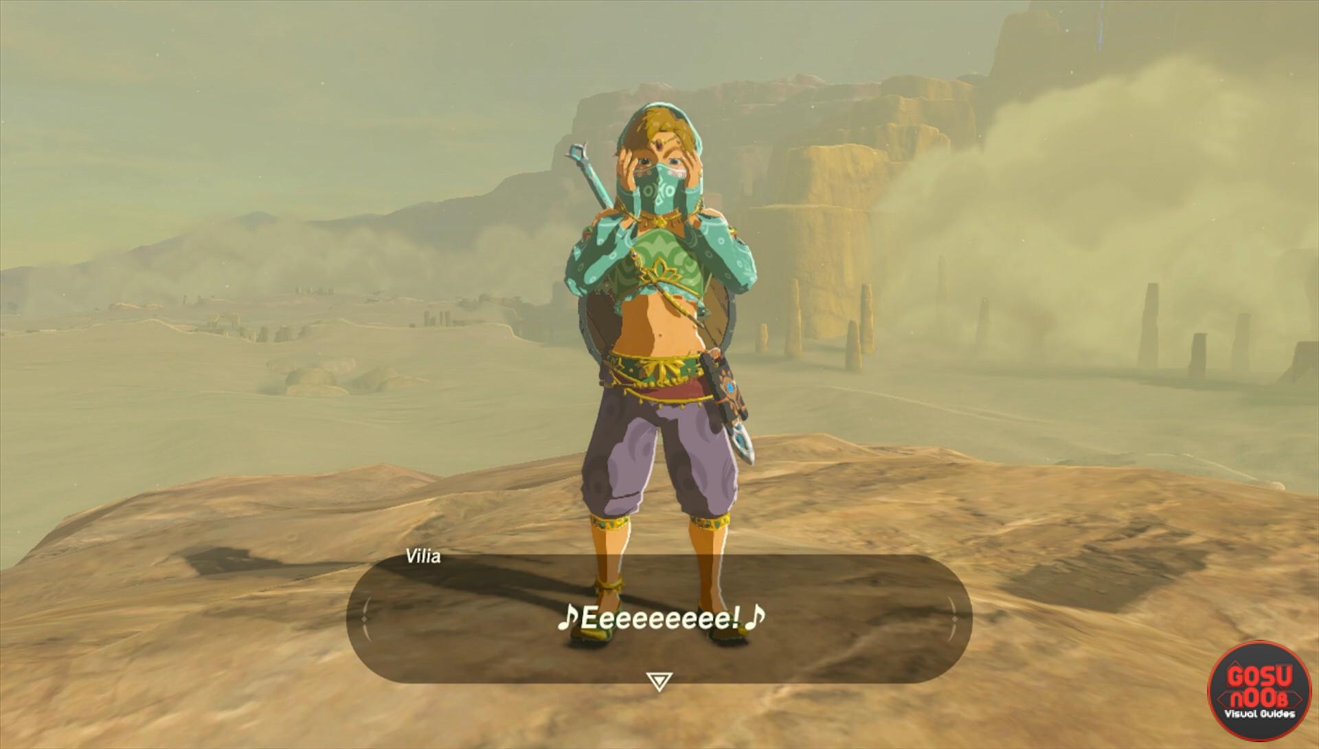 Zelda Breath Of The Wild How To Enter Gerudo Town