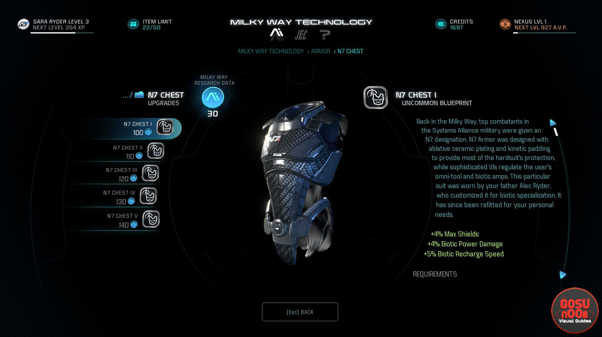 N7 Armor Mass Effect Andromeda: Mass Effect Andromeda How To Get N7 Armor