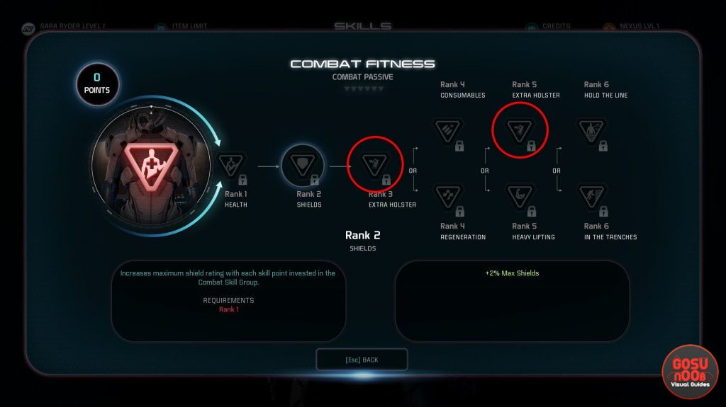 how to increase item limit get more weapon slots me andromeda
