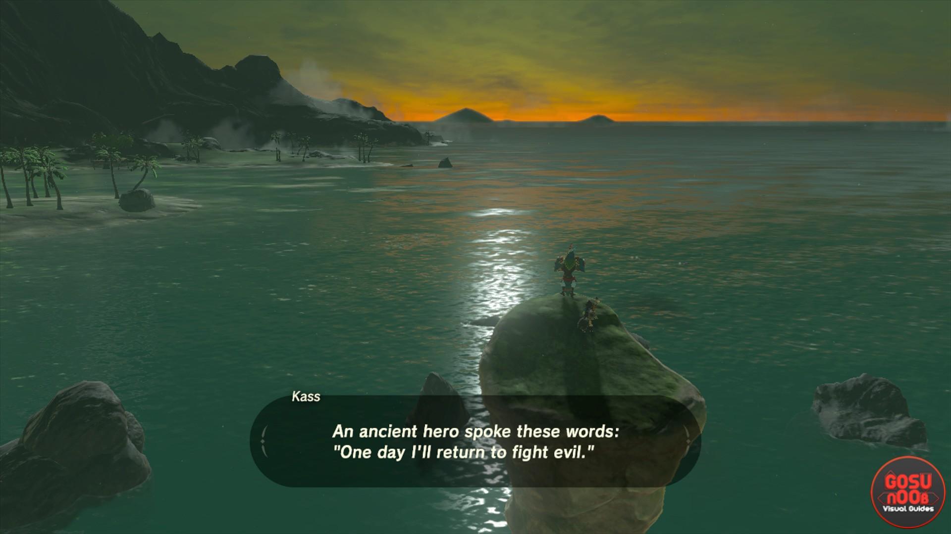 Zelda Botw Kass Secret Shrine Locations And Riddle Solutions