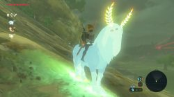 lord of the mountain secret mount zelda botw