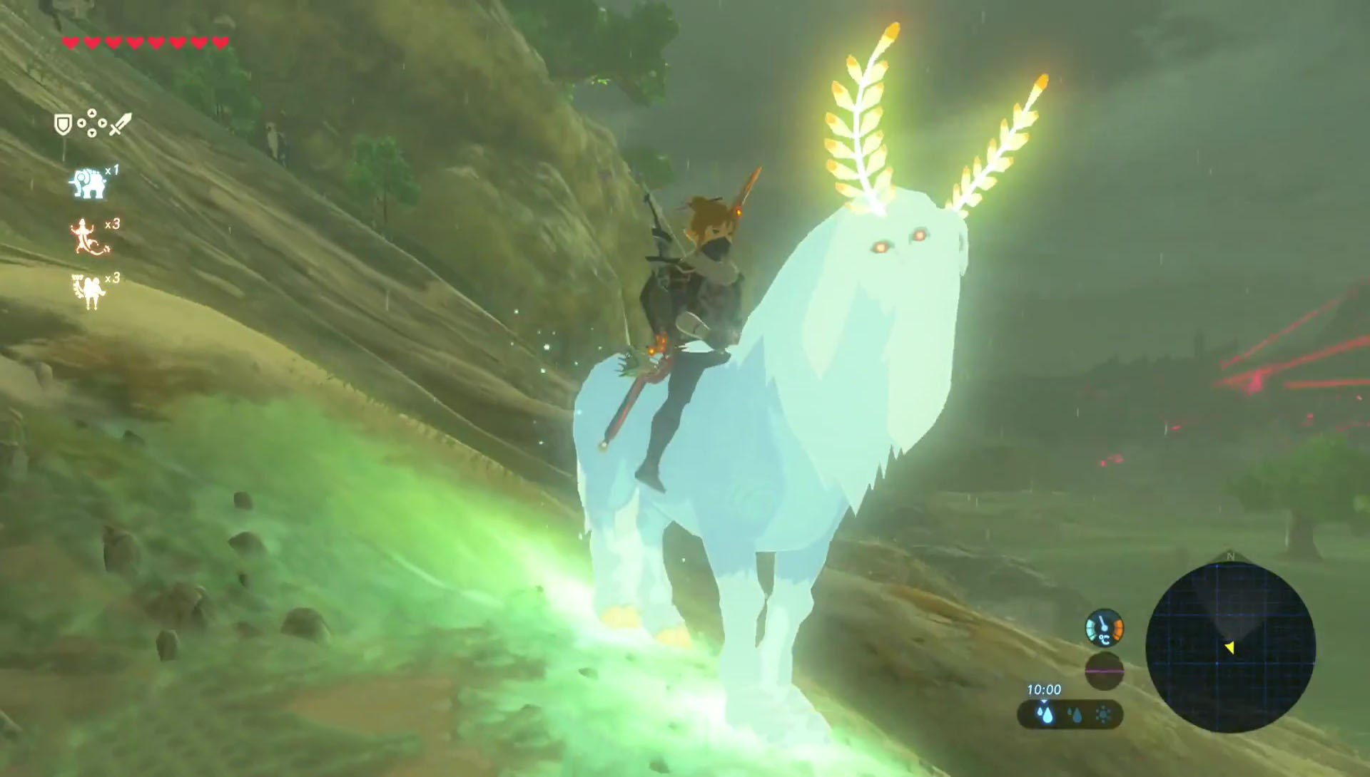 Zelda Breath Of The Wild Secret Mount Lord Of The Mountain