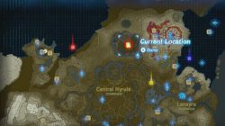 master sword location zelda botw