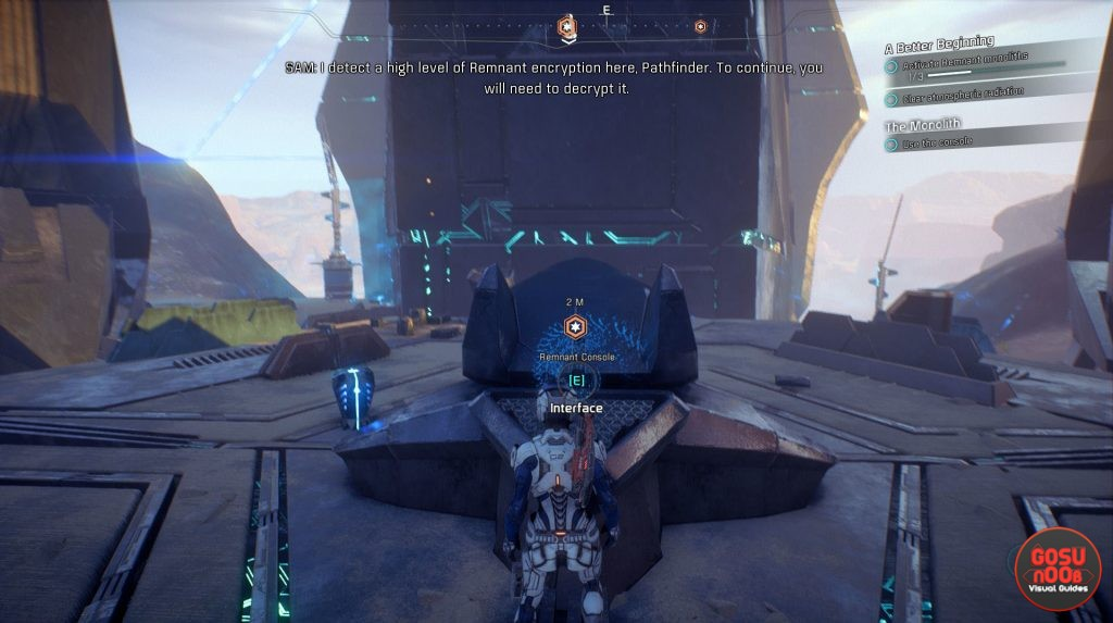 me andromeda remnant decryption key locations