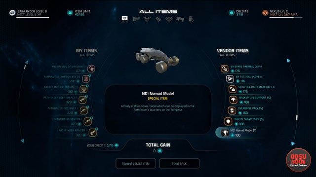 me andromeda tempest trophies