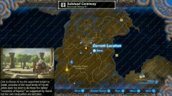 recovered memory 1 map location zelda breath of the wild