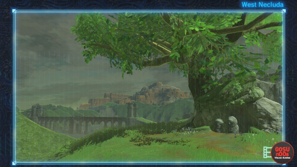 recovered memory 11 shelter from the storm zelda breath of the wild