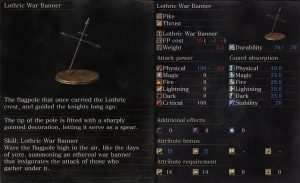 ringed city lothric war banner