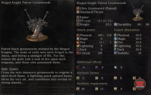 ringed knight paired greatswords dks3