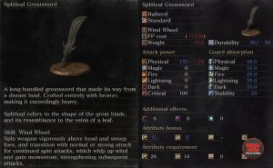 splitleaf greatsword ringed city