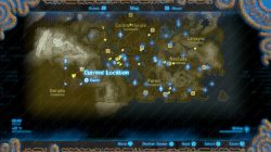 tarrey town gerudo location map zelda botw