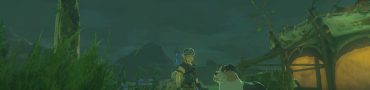 treasure hunting dog zelda botw