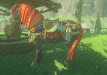zelda botw horse armor how to customize mount