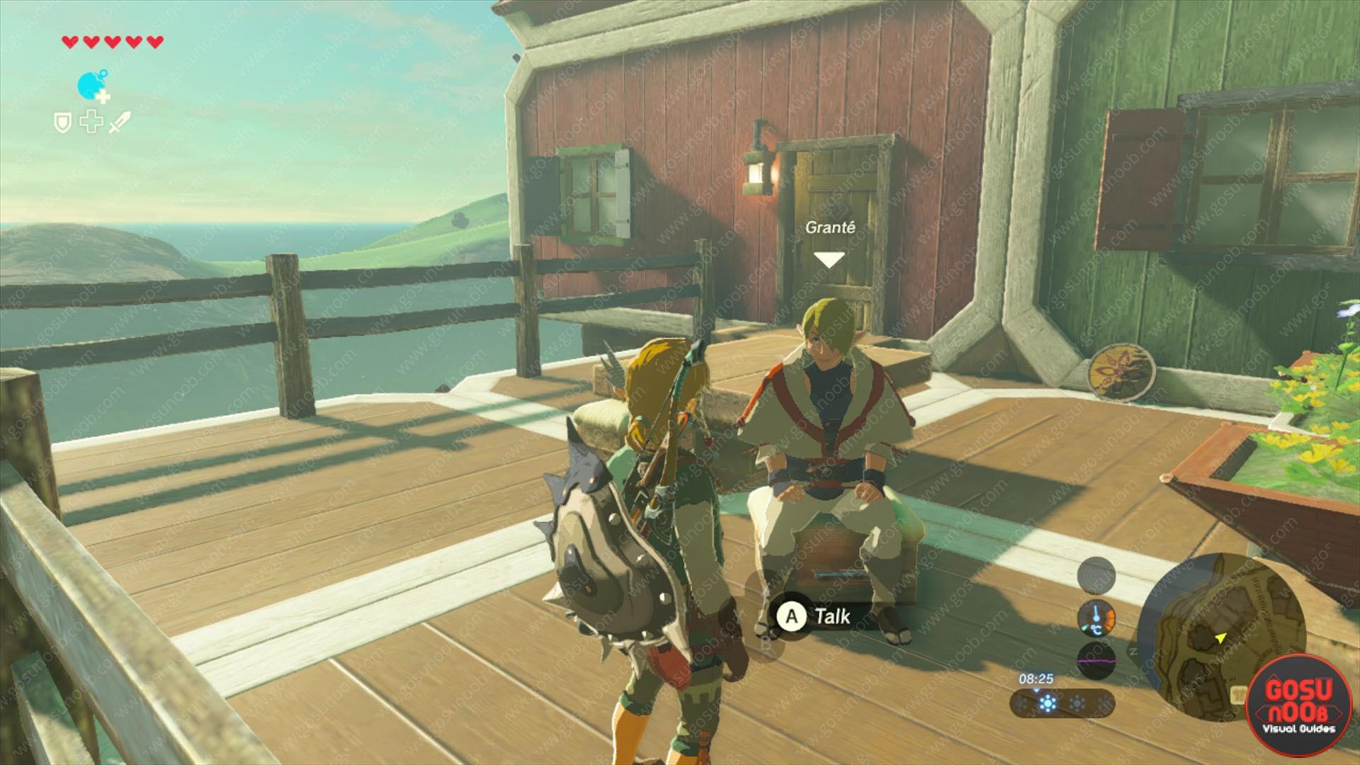 Zelda Botw Grante Secret Vendor Armor Weapon Buy Back Merchant