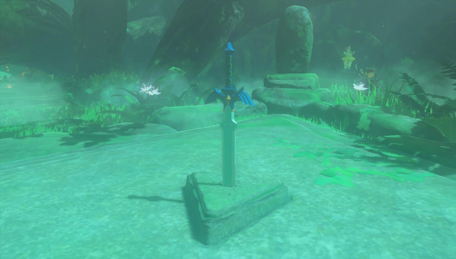 Zelda Breath of The Wild Master Sword Location - Unbreakable