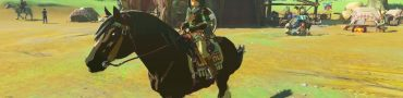 zelda breath of the wild taming horses