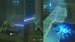 Ishto Soh Shrine Laser Zelda BotW
